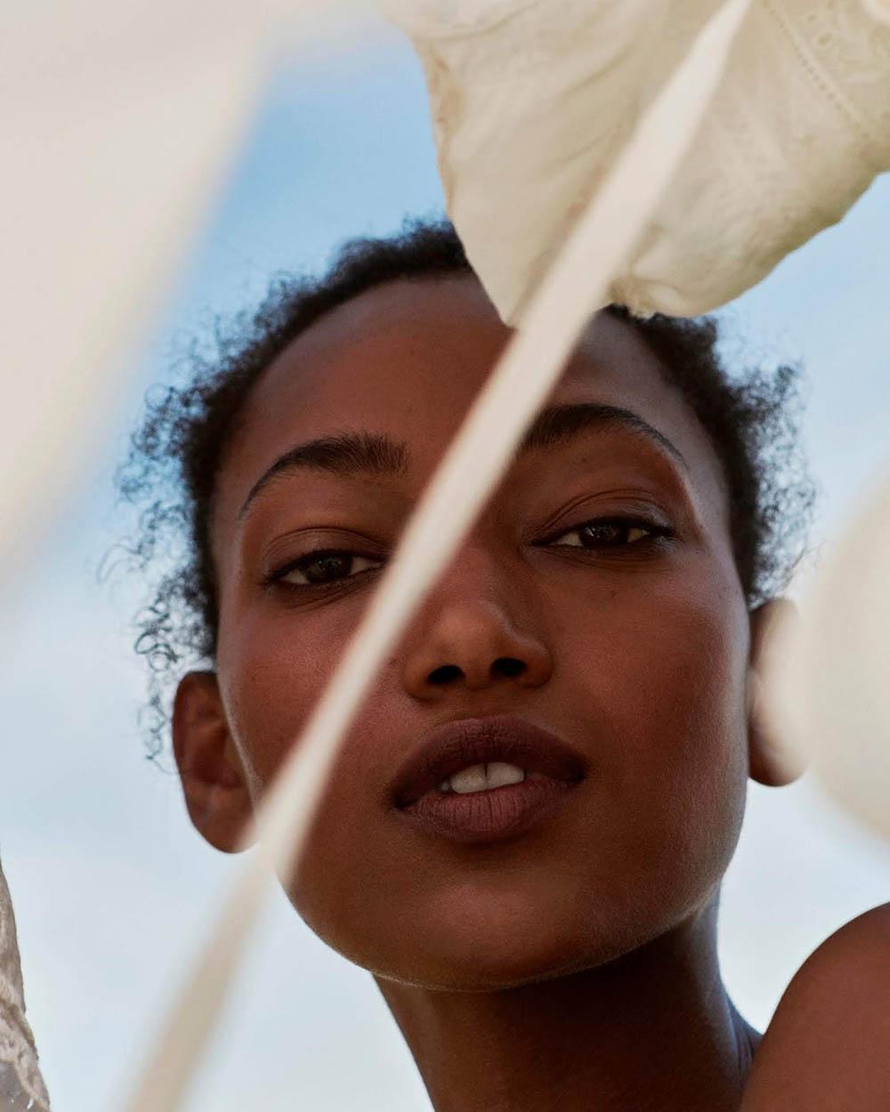 Nur Hellmann and Dani Witt by Jason Hetherington for Marie Claire UK November 2019