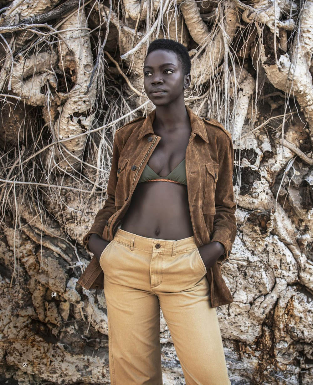 Nyamuoch Girwath by David Yarrow for Harper's Bazaar US October 2019