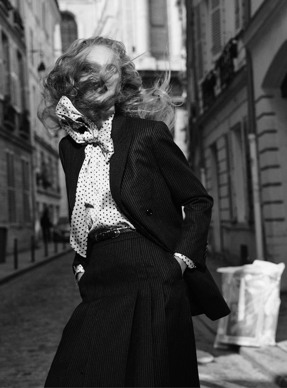 Olivia Vinten by Simon Eeles for V Magazine Fall 2019