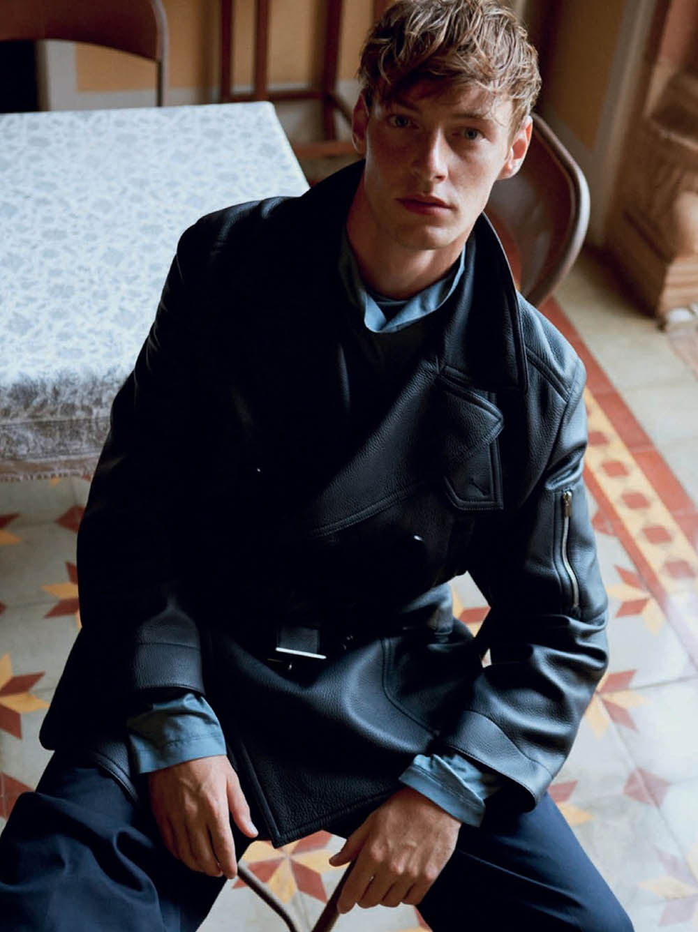 Roberto Sipos by Yago Castromil for GQ Spain October 2019