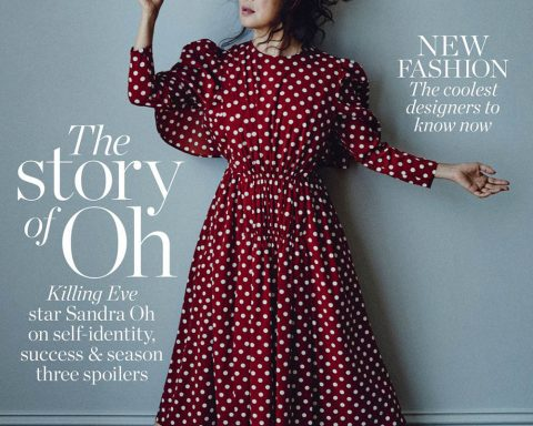 Sandra Oh covers Porter Magazine October 18th, 2019 by Boo George