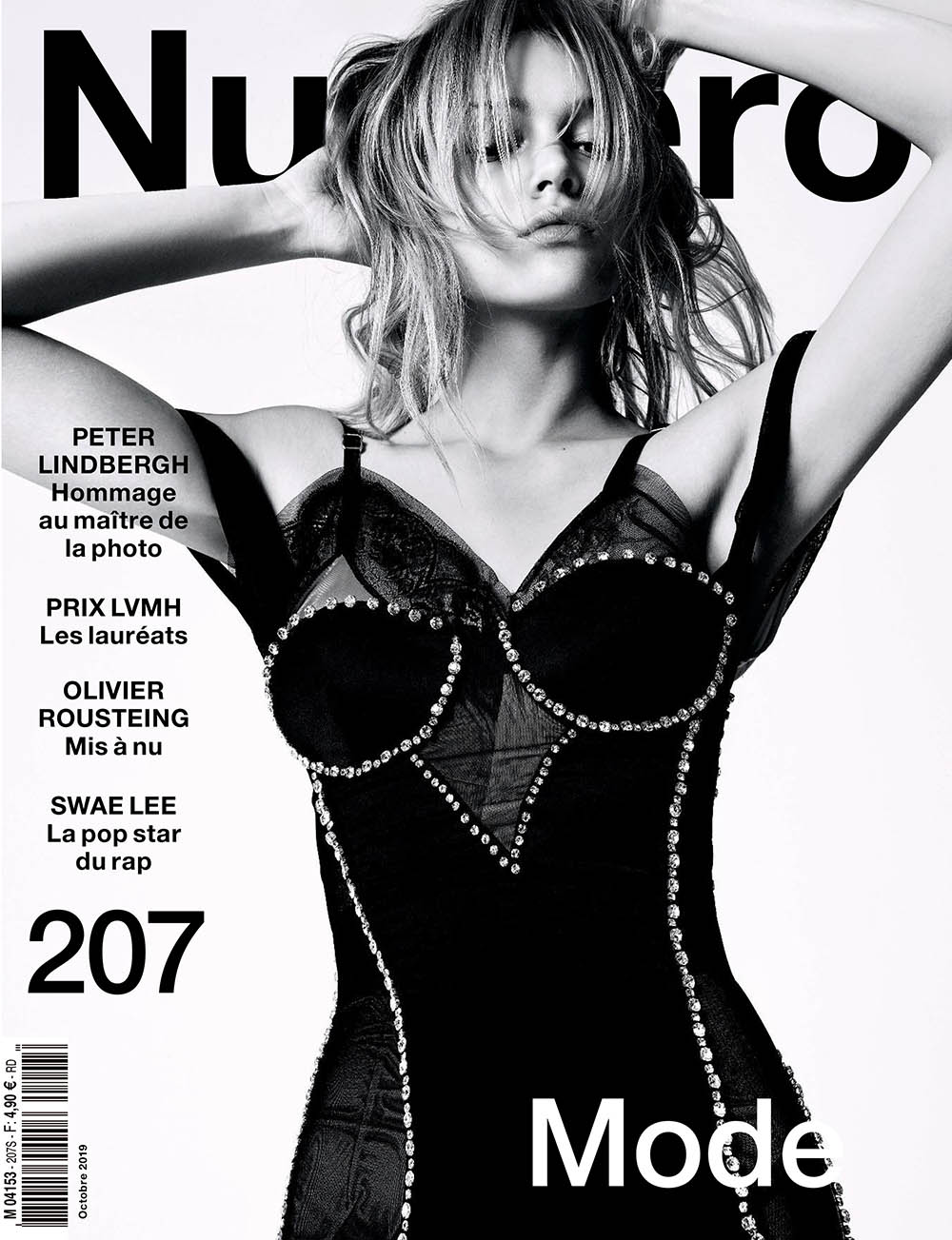 Simona Kust covers Numéro October 2019 by Jean-Baptiste Mondino