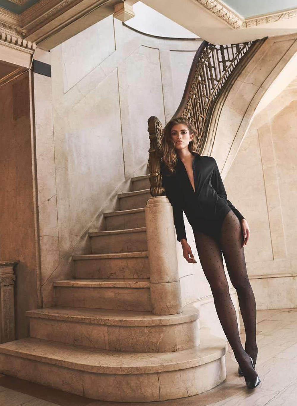 Valentina Sampaio covers Elle France October 11th, 2019 by Sebastian Kim