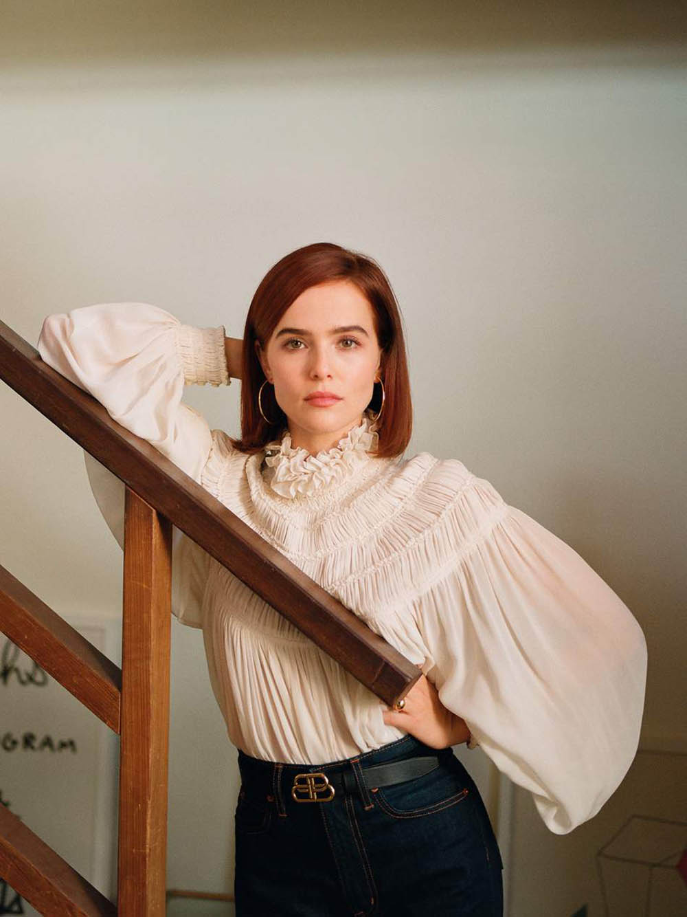 Zoey Deutch covers Porter Magazine October 4th, 2019 by Katie McCurdy
