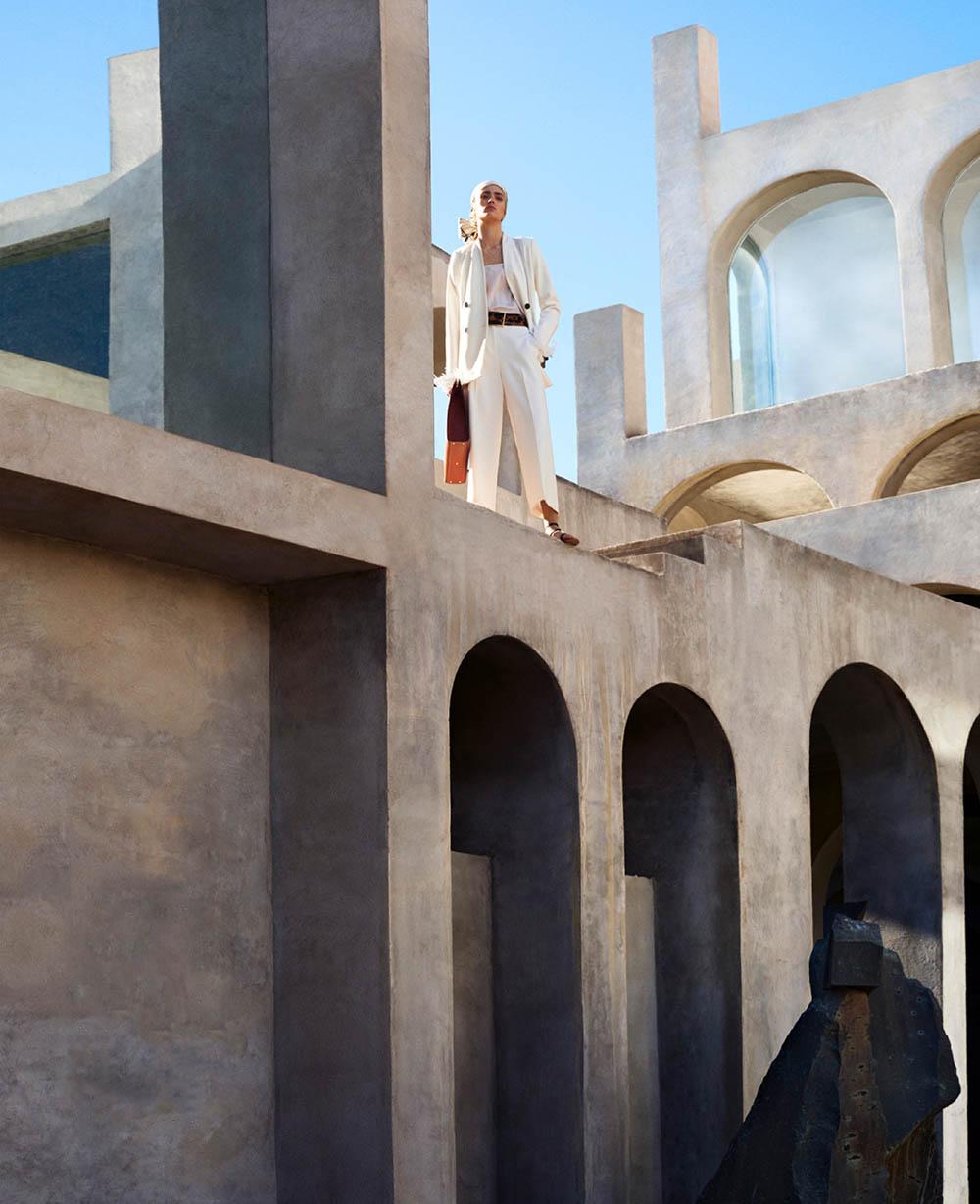 Alexandra Micu by Txema Yeste for Harper's Bazaar US November 2019