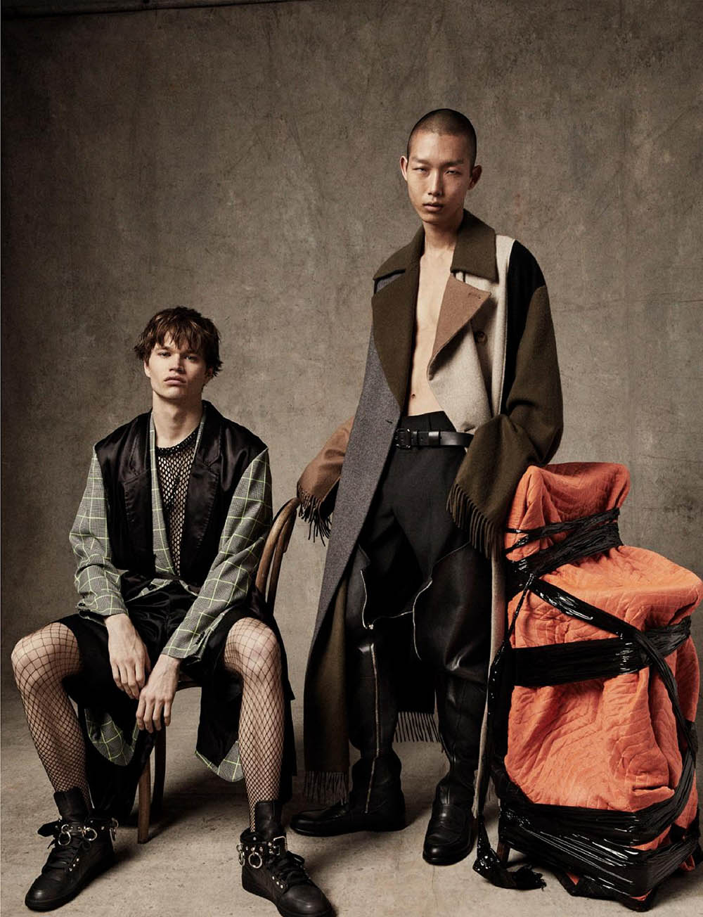 ''All For One'' by Marcus Ohlsson for VMan Fall Winter 2019