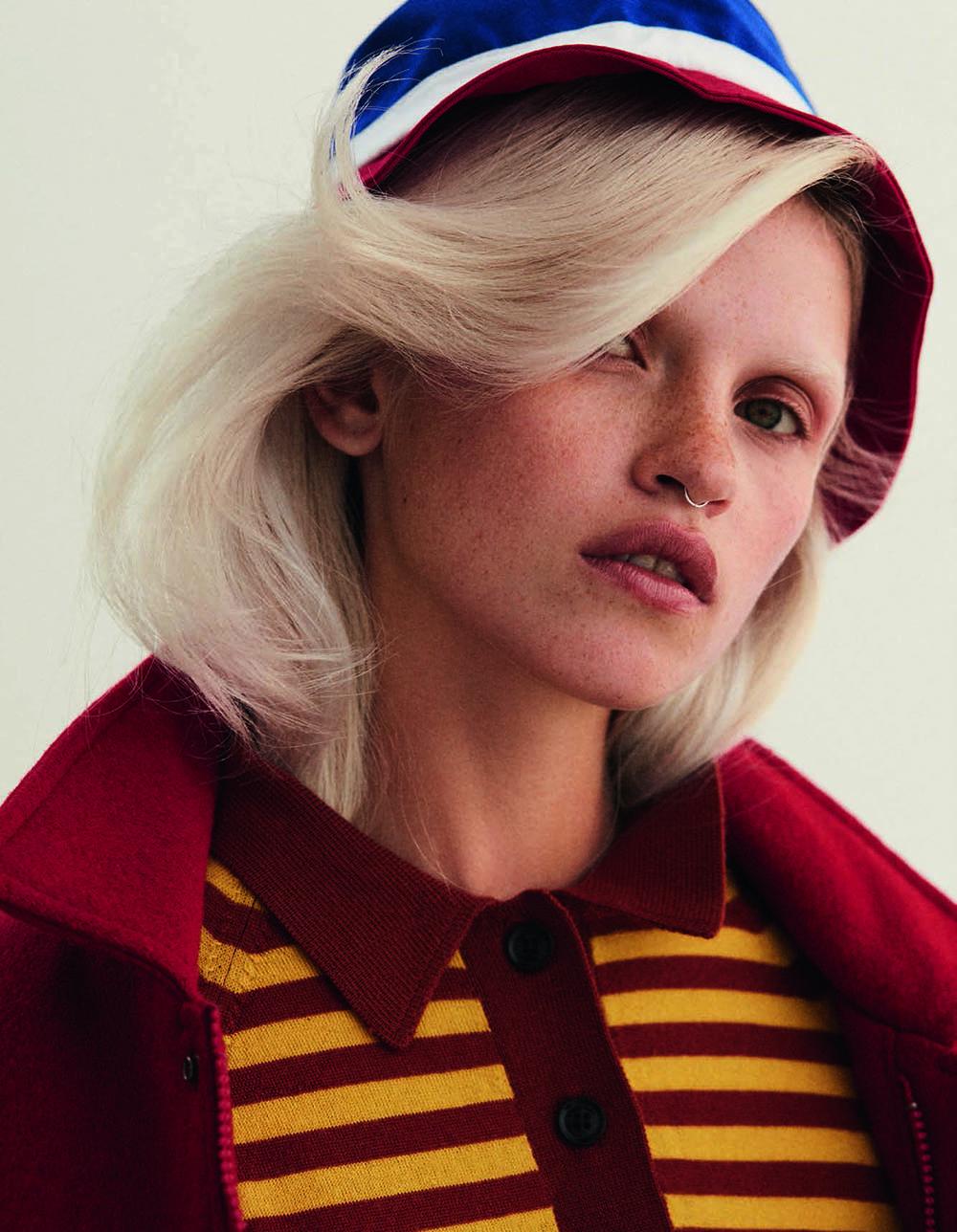 Anja Konstantinova by Agnieszka Kulesza & Łukasz Pik for Vogue Poland November 2019
