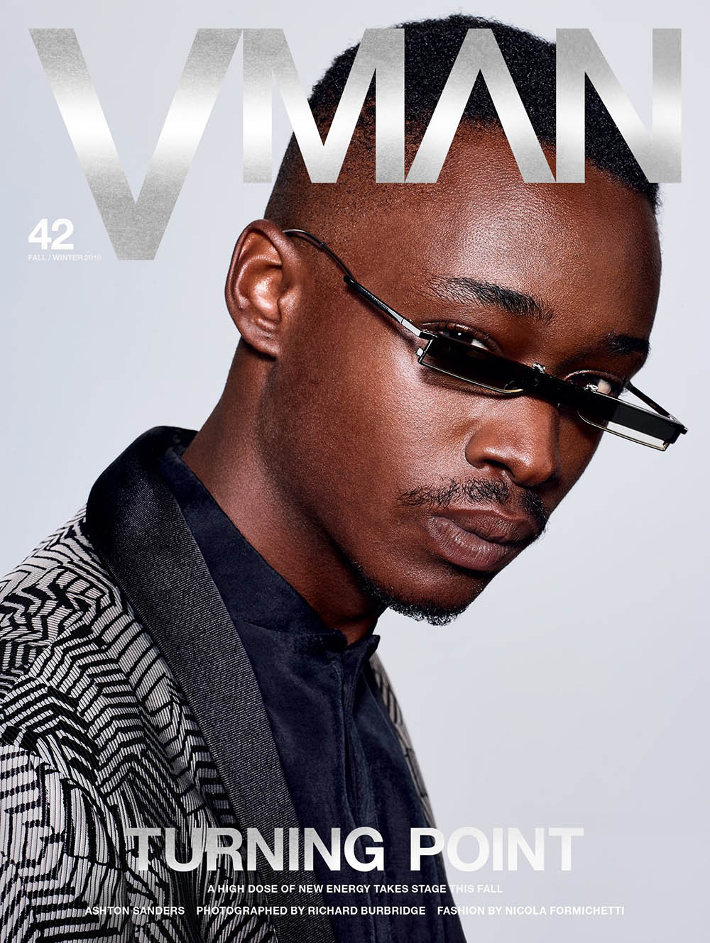 Ansel Elgort, Ashton Sanders and Cody Fern cover VMan Fall Winter 2019 by Richard Burbridge