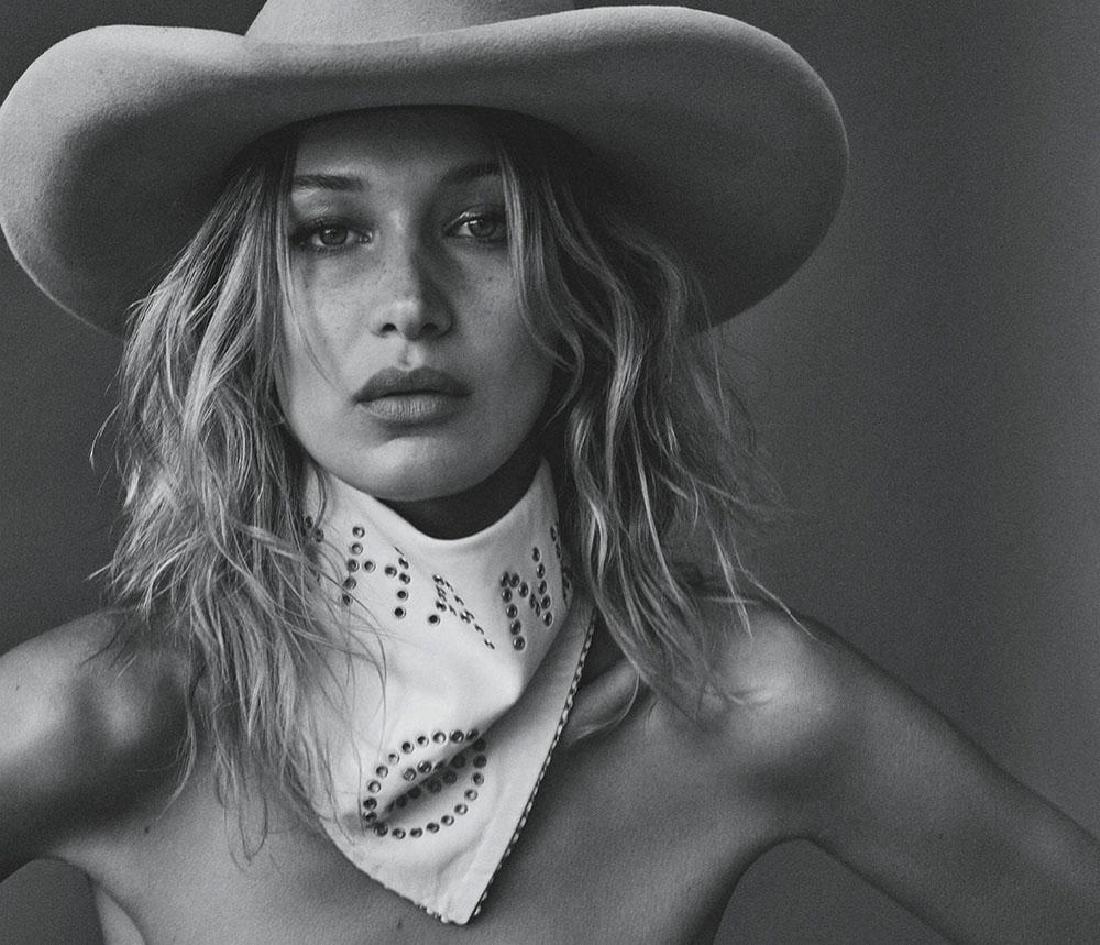 Bella Hadid covers Vogue Australia November 2019 by Daniel Jackson