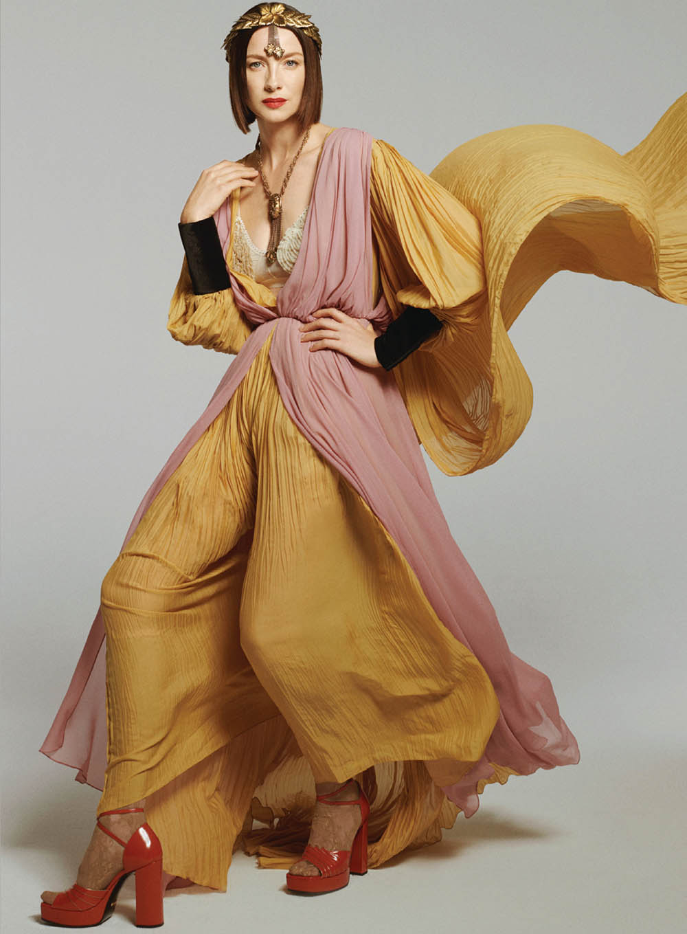 Caitriona Balfe by Philip Gay for InStyle US November 2019