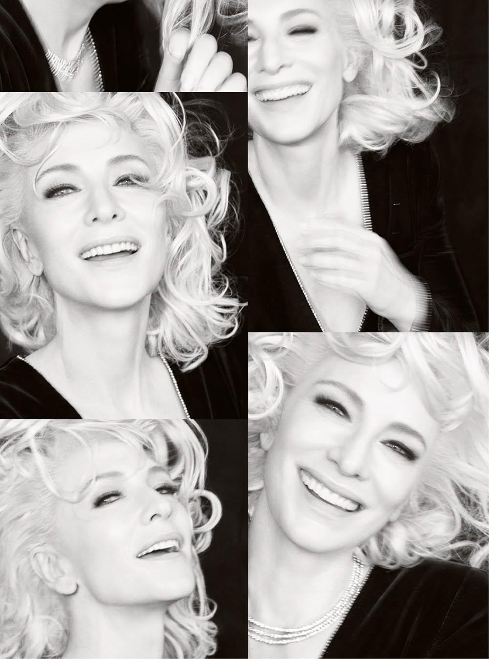 Cate Blanchett covers Harper's Bazaar UK December 2019 by Tom Munro