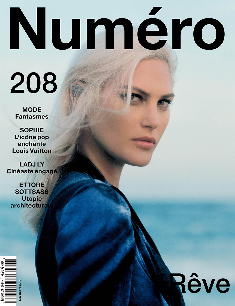Catherine McNeil covers Numéro November 2019 by Alexander Saladrigas