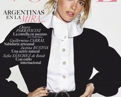 Chiara Parravicini covers Vogue Latin America November 2019 by David Ferrua