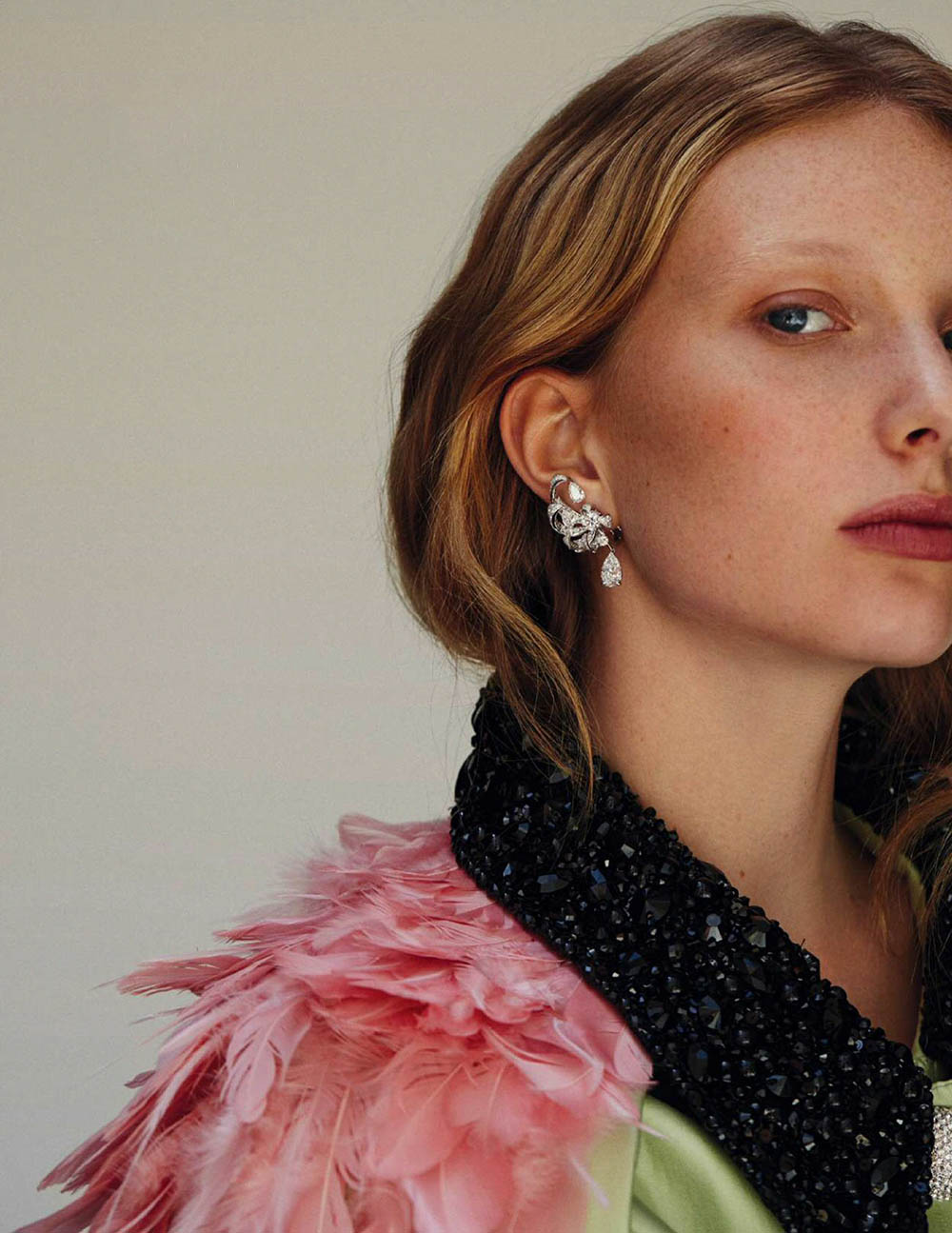 Demy de Vries by Javi Oller for Harper's Bazaar Spain November 2019
