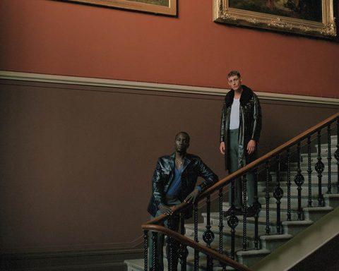 Dennis Okwera and Aubrey O'Mahony by Chris Brooks for Esquire UK November December 2019