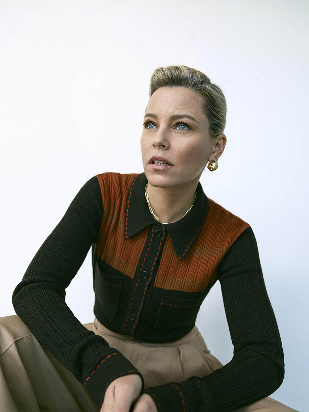 Elizabeth Banks covers Porter Magazine November 22nd, 2019 by Matthew Sprout