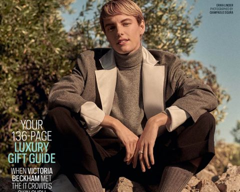 Erika Linder covers The Sunday Times Style November 17th, 2019 by Giampaolo Sgura