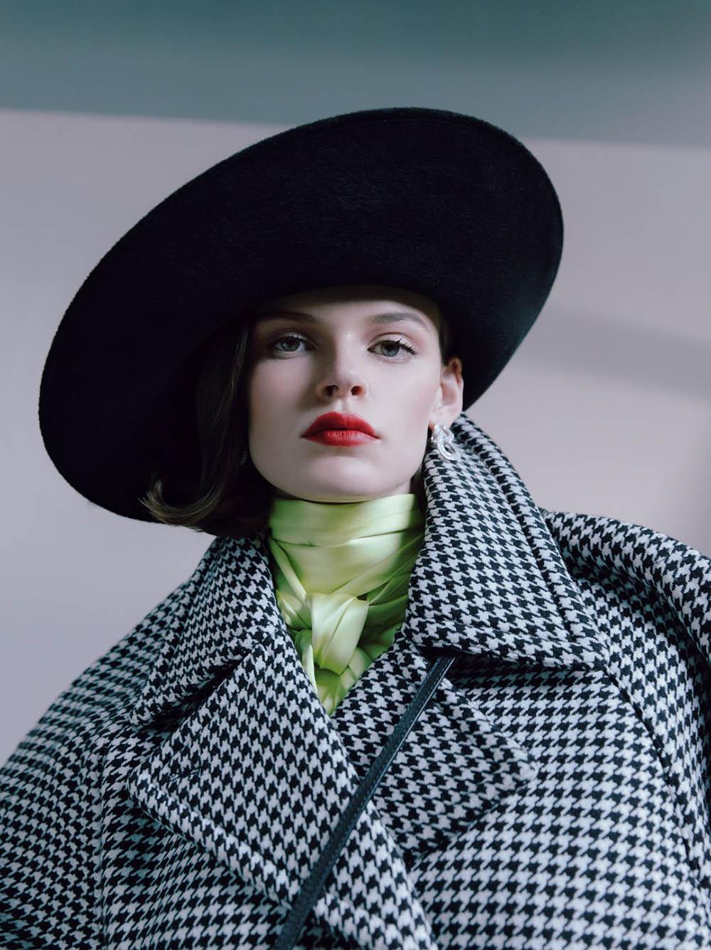 ''Fade To Grey'' by Kristin-Lee Moolman for British Vogue November 2019