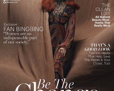 Fan Bingbing covers Marie Claire Malaysia November 2019 by Chen Man