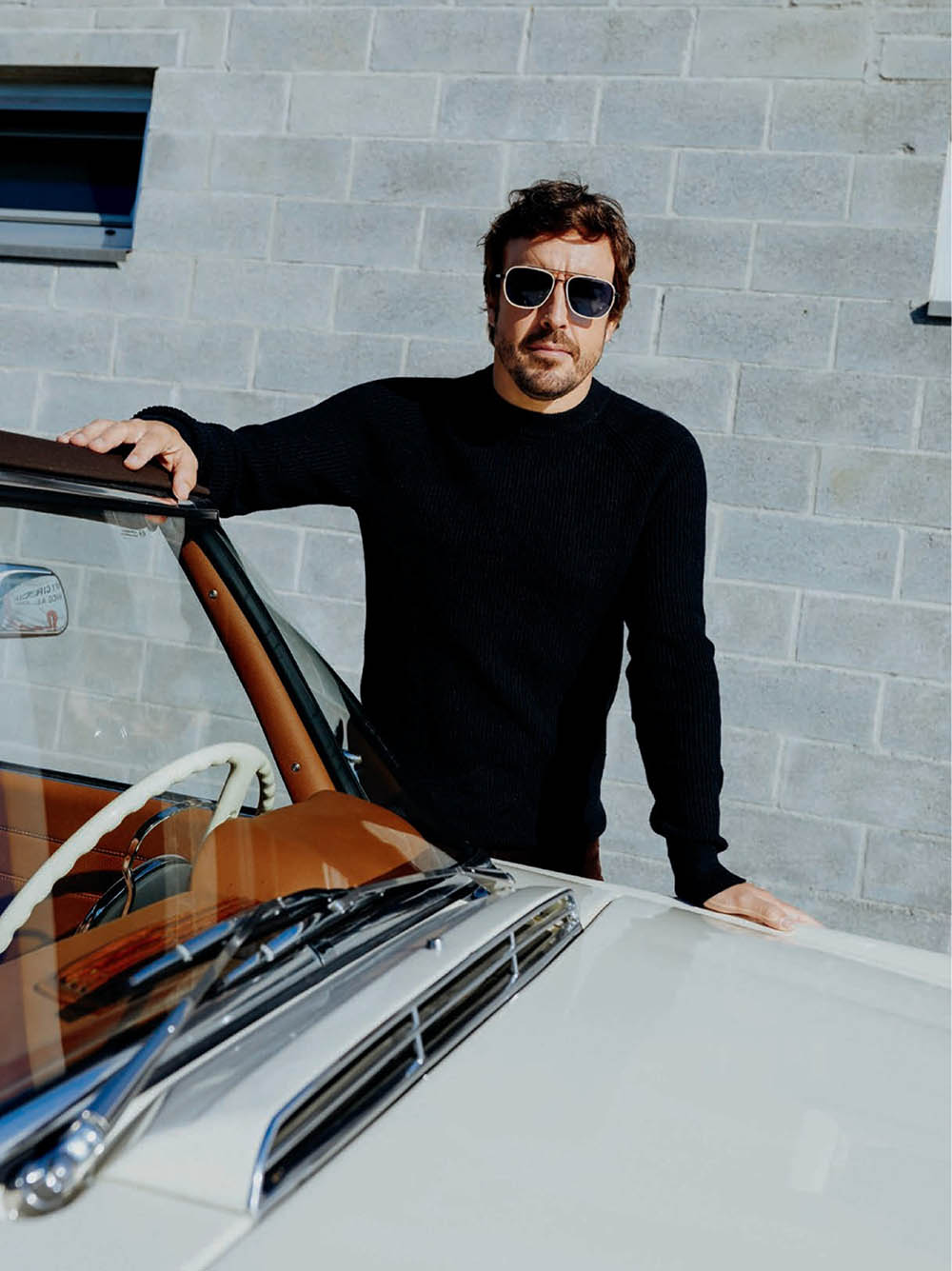 Fernando Alonso covers GQ Spain November 2019 by Adrià Cañameras