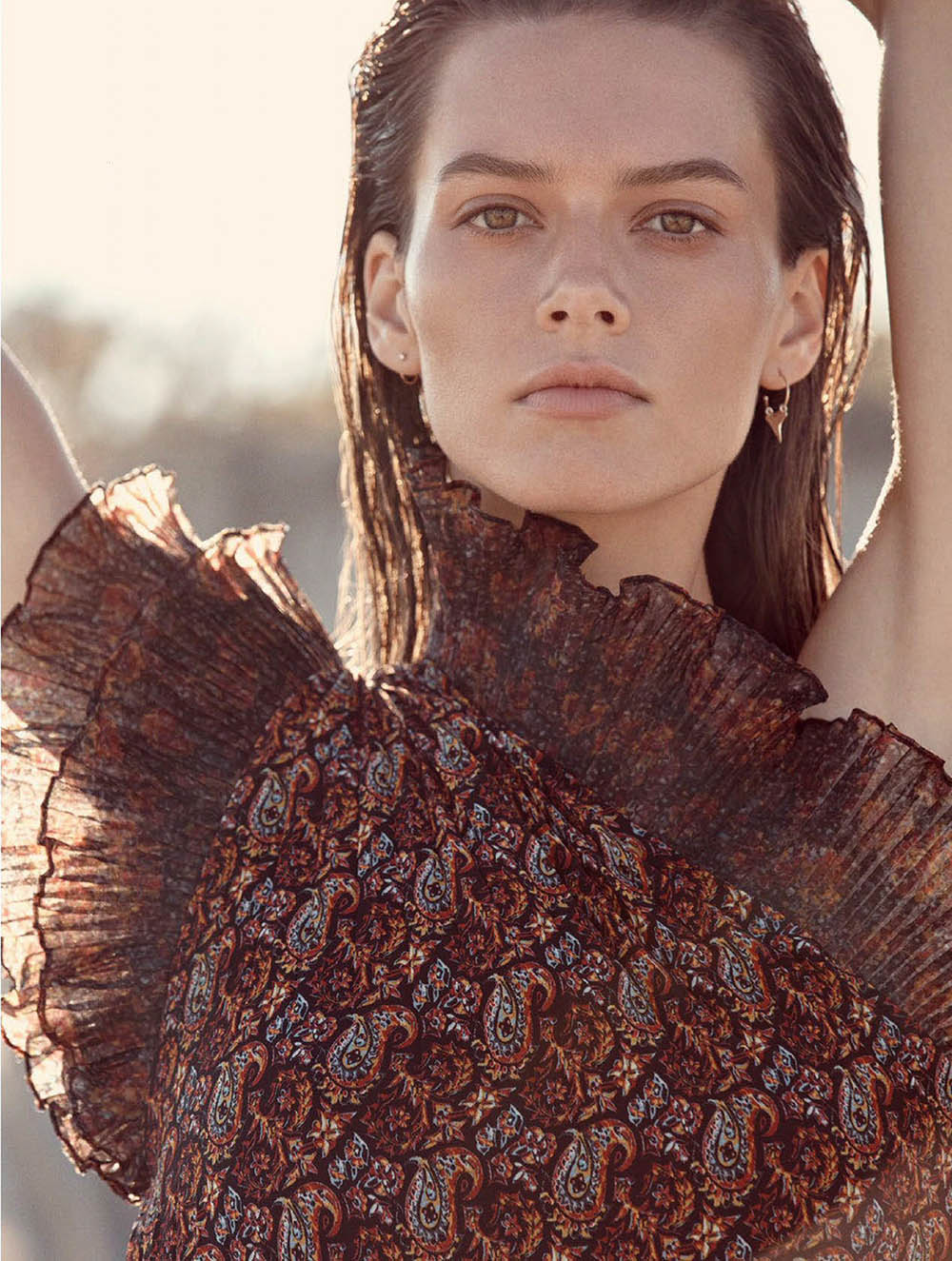 Jasmine Dwyer by Christopher Ferguson for Elle Australia November 2019