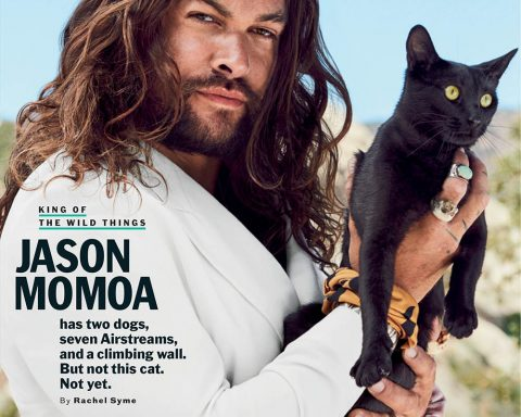 Jason Momoa covers Esquire US November 2019 by Eric Ray Davidson