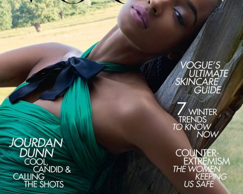 Jourdan Dunn covers British Vogue November 2019 by Nick Knight