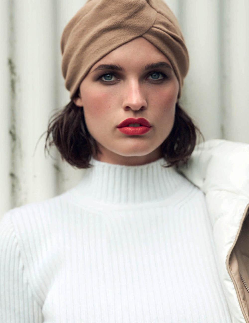 Julia van Os by Bjorn Iooss for Vogue Spain November 2019