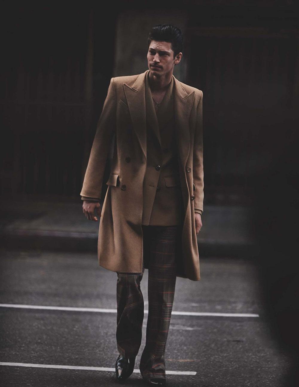Justin Eric Martin by Blair Getz Mezibov for British GQ November 2019
