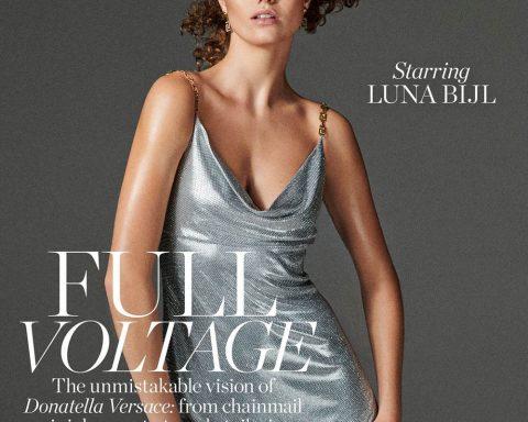 Luna Bijl covers Porter Magazine November 15th, 2019 by Giampaolo Sgura
