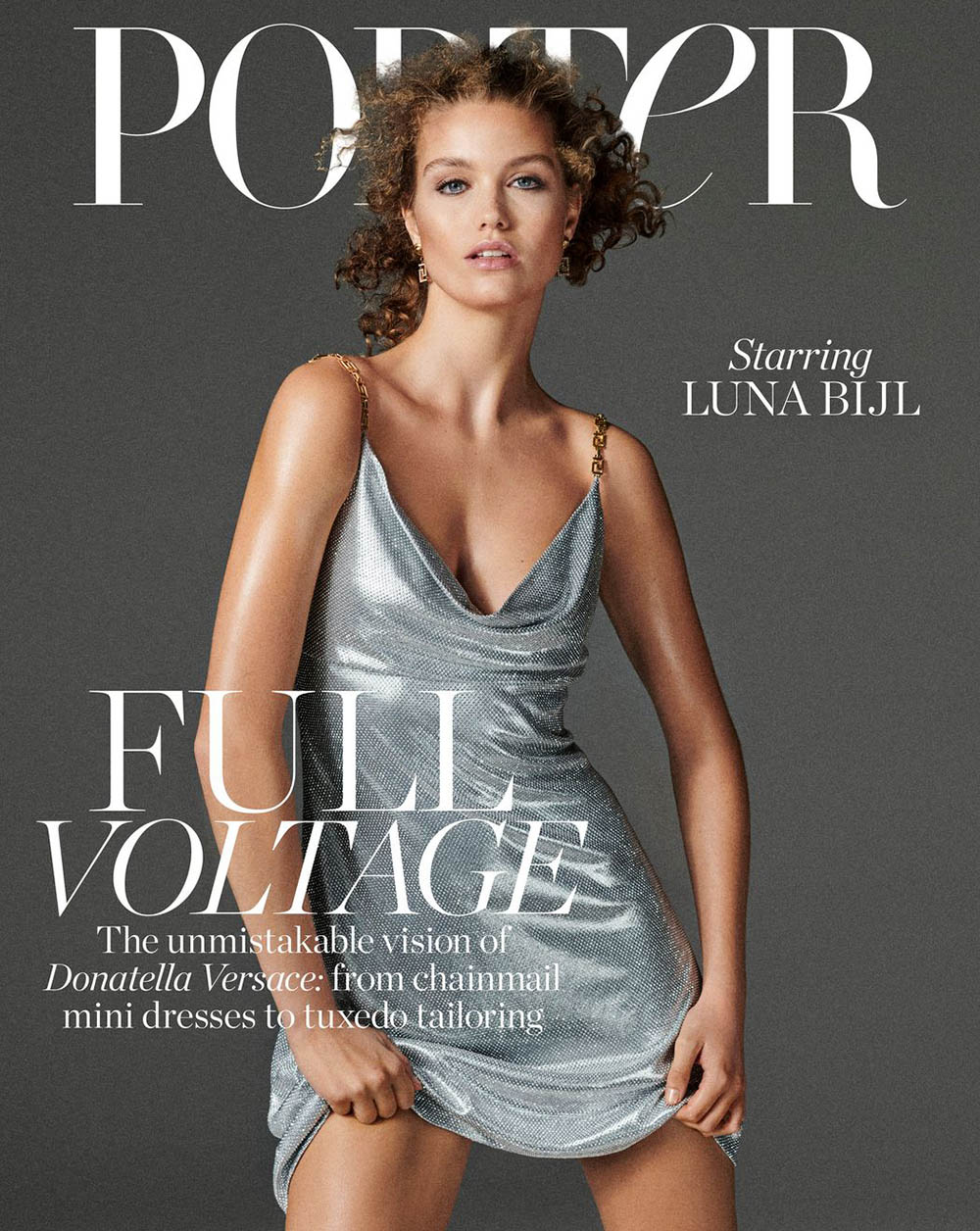 Luna Bijl covers Porter Magazine November 15th, 2019 by Giampaolo Sgura