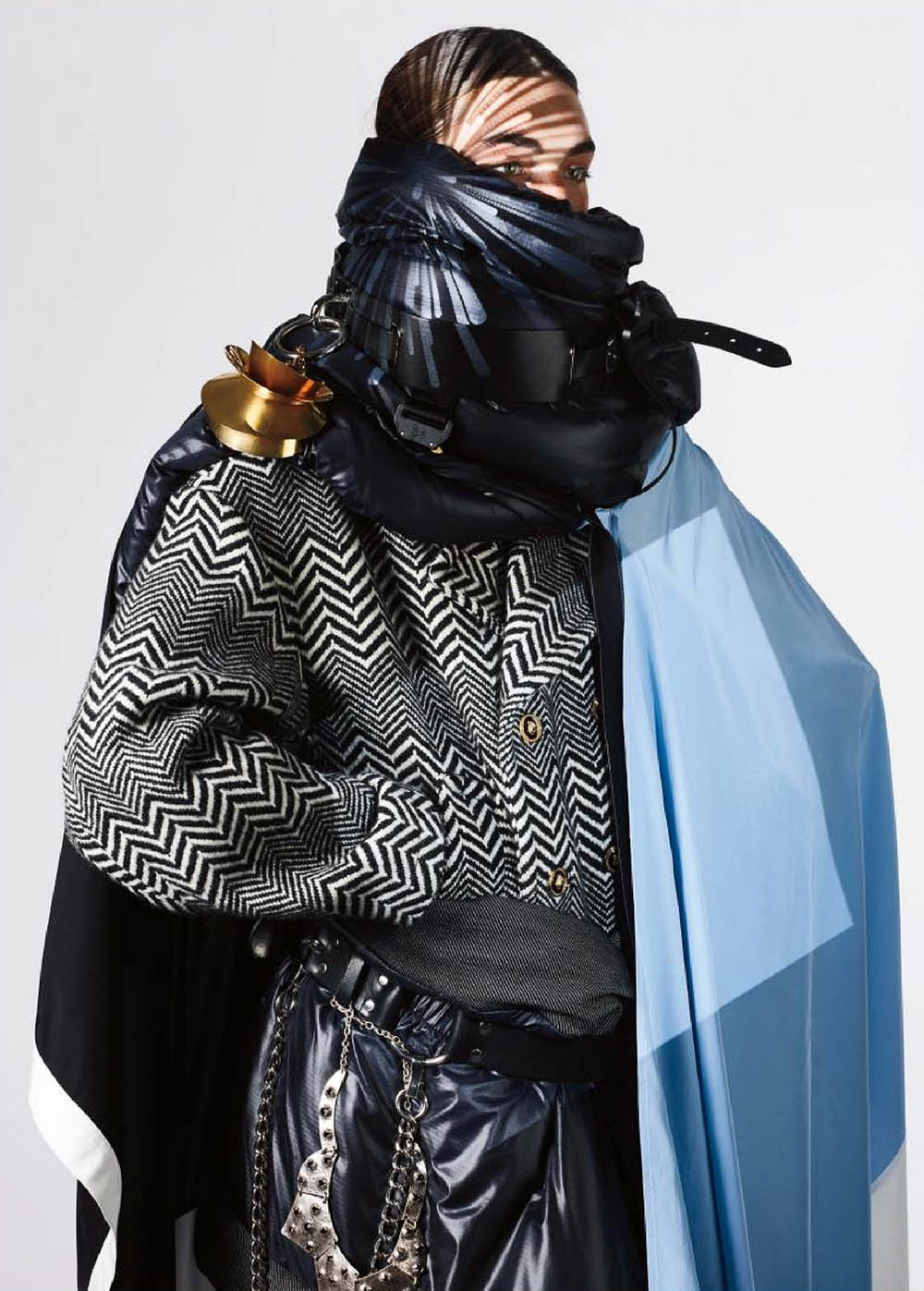 Niko Traubman by Richard Burbridge for VMan Fall Winter 2019
