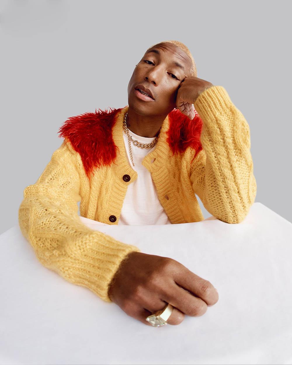 Pharrell Williams covers GQ USA November 2019 Micaiah Carter