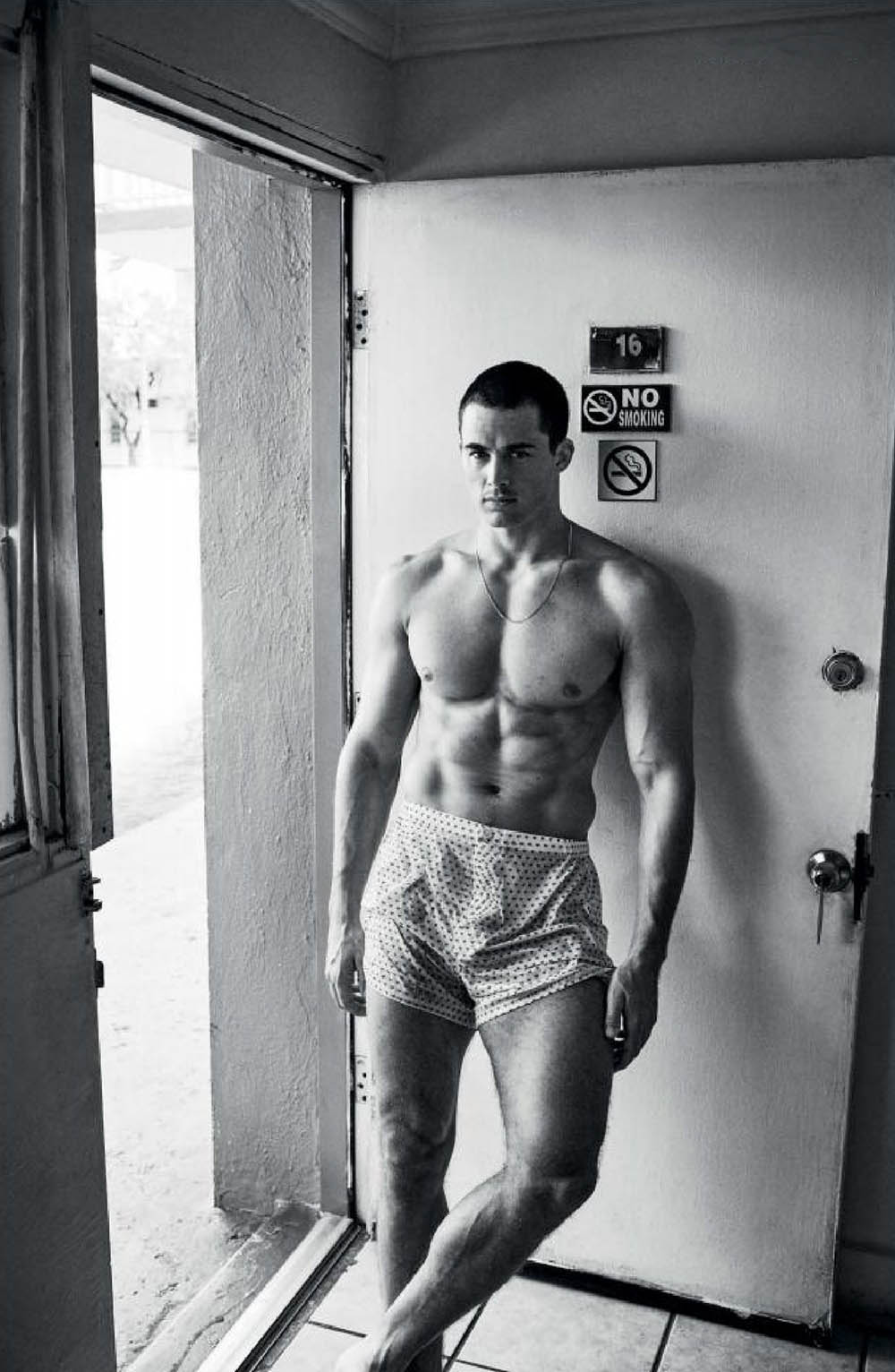 Pietro Boselli by Giampaolo Sgura for VMan Fall Winter 2019