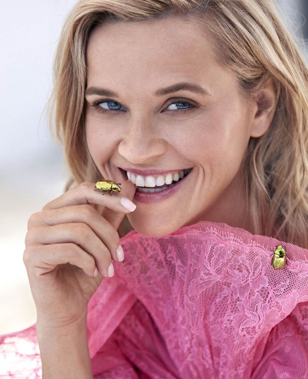 Reese Witherspoon covers Harper's Bazaar US November 2019 by Camilla Akrans