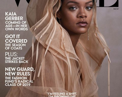 Rihanna covers Vogue US November 2019 by Ethan James Green