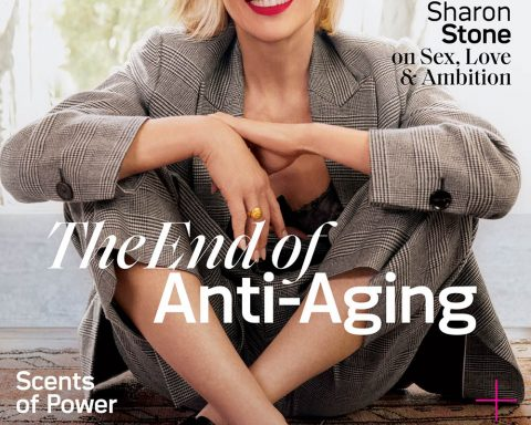 Sharon Stone covers Allure US November 2019 by Emma Summerton