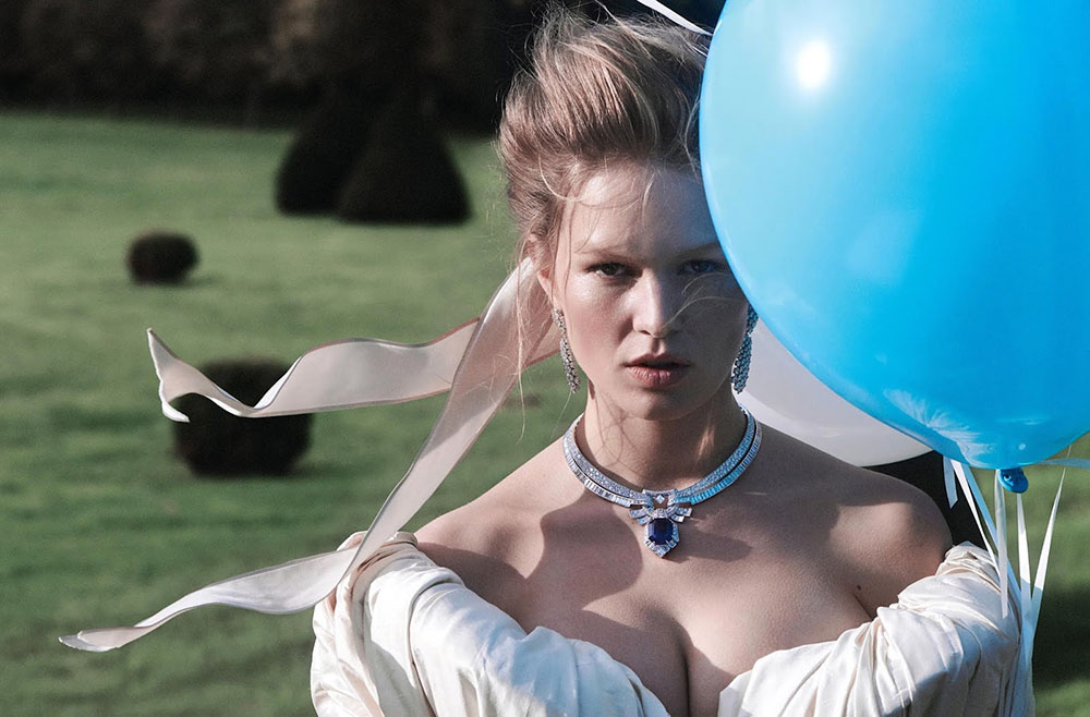 Anna Ewers by Charlotte Wales for Vogue Paris December 2019 January 2020