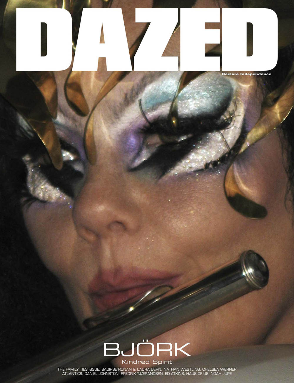 Björk covers Dazed Magazine Winter 2019 by Harley Weir