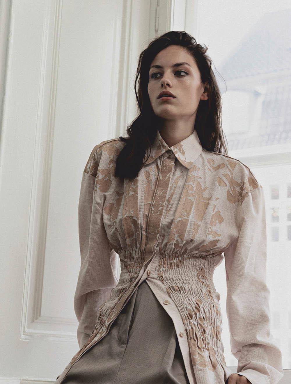 Caroline Knudsen by Marco van Rijt for Elle Denmark December 2019