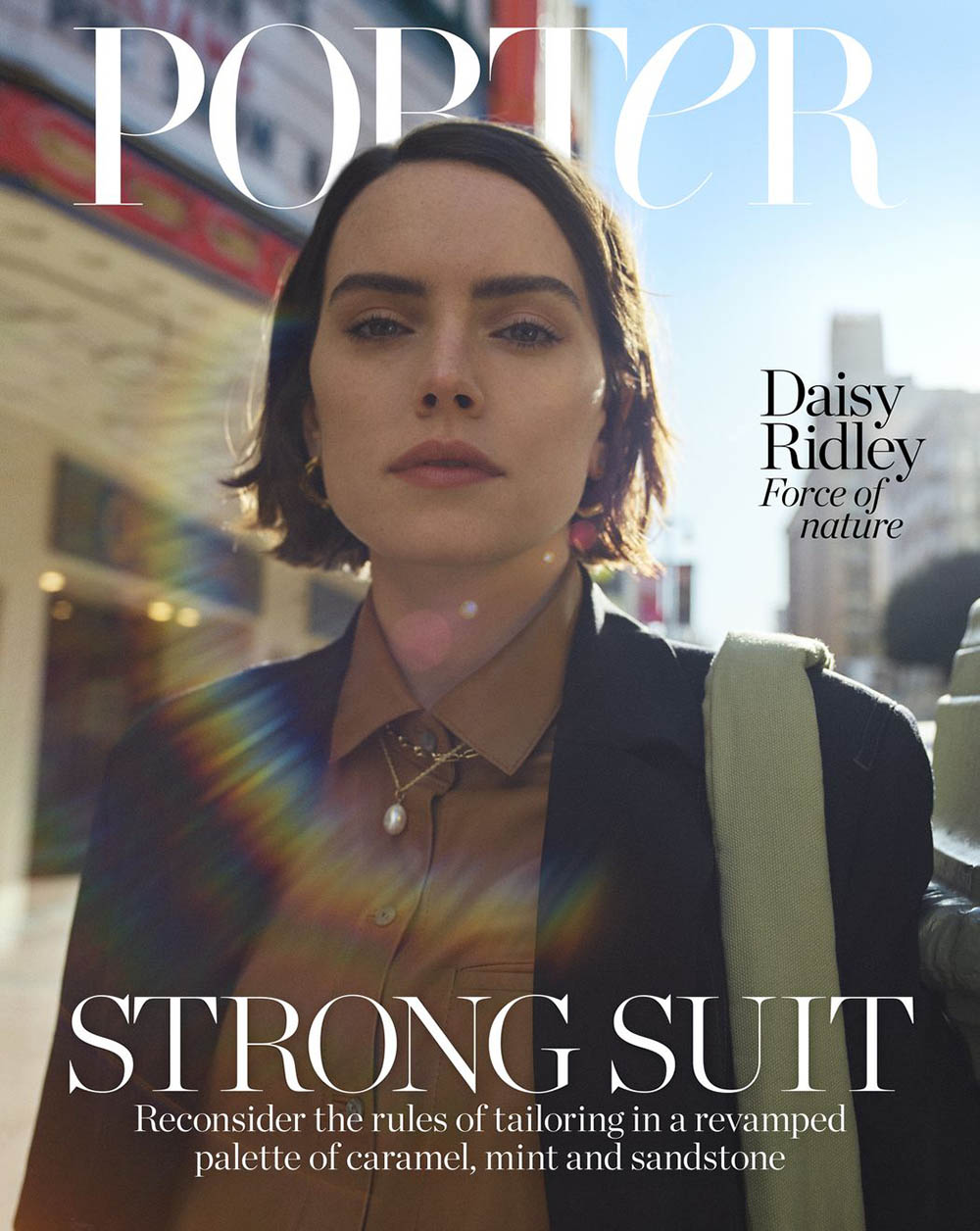 Daisy Ridley covers Porter Magazine December 13th, 2019 by Matthew Sprout