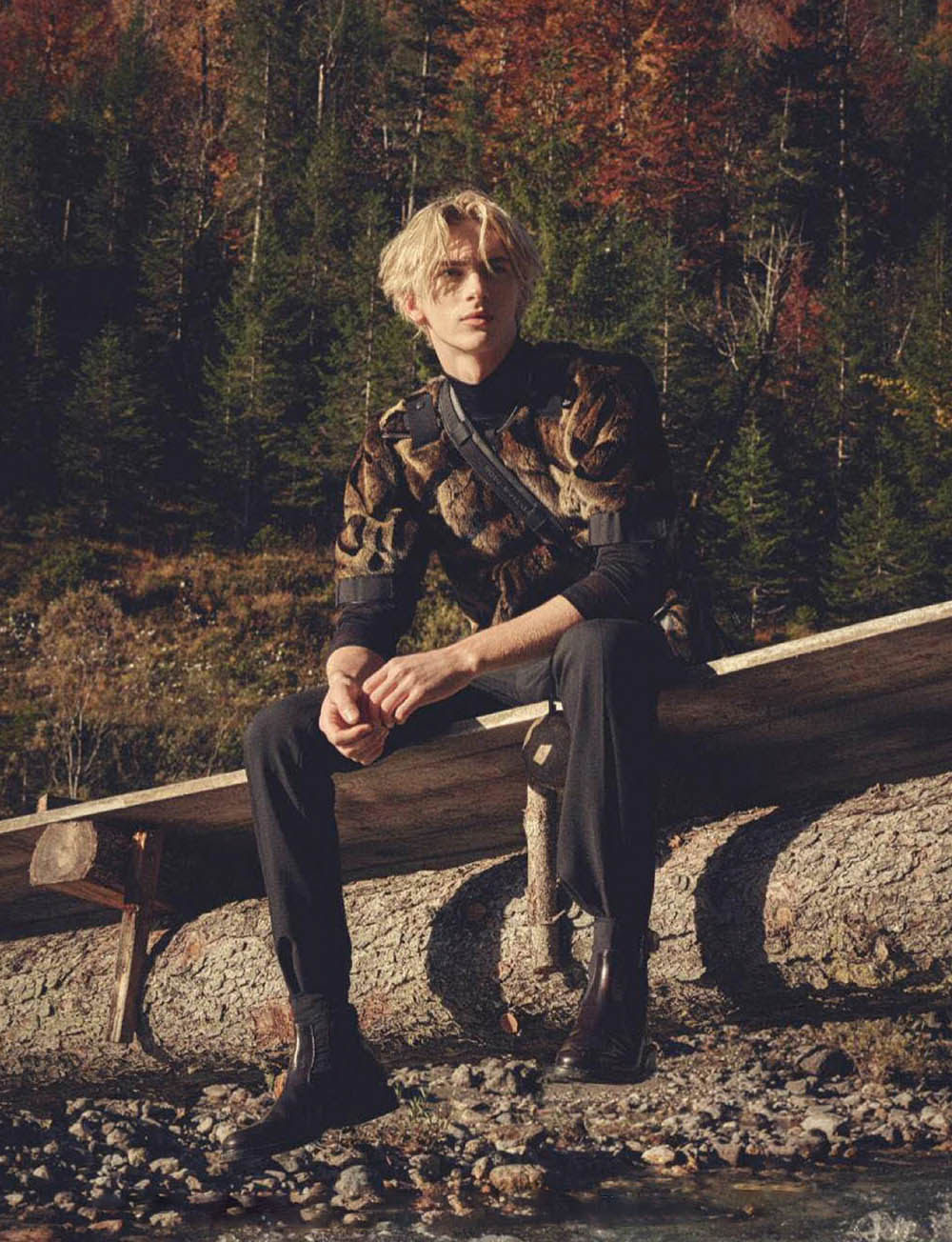Dominik Sadoch by Markus Jans for GQ Germany December 2019