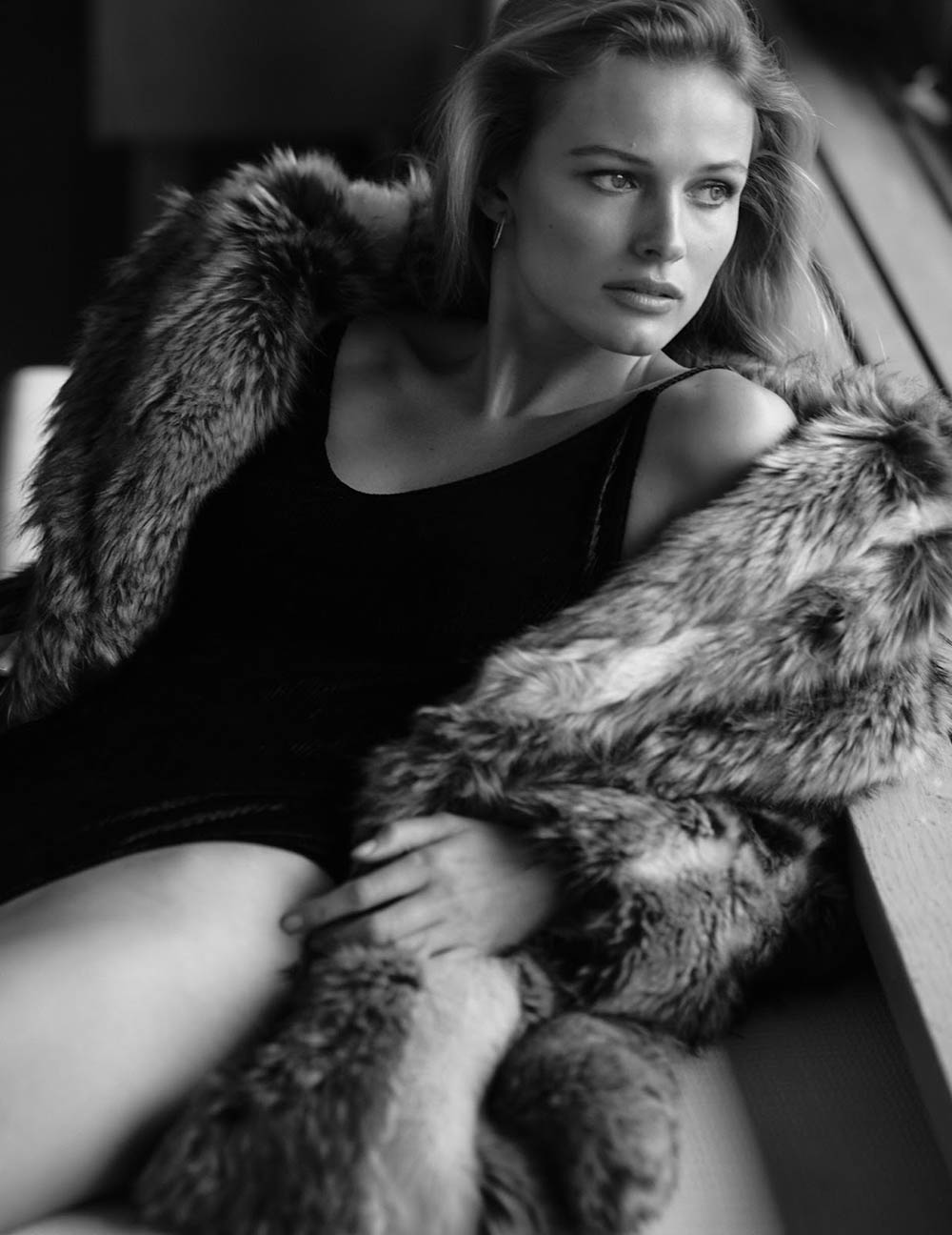 Edita Vilkeviciute by Chris Colls for Vogue Paris December 2019 January 2020