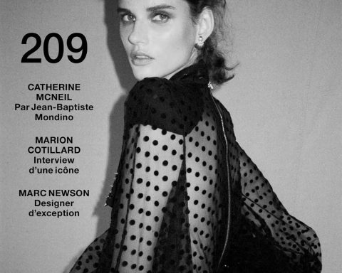Giedre Dukauskaite covers Numéro December 2019 January 2020 by Cameron McCool