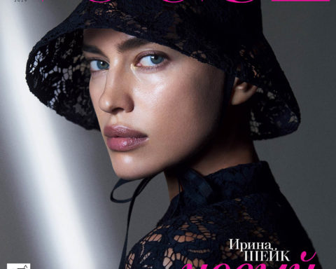Irina Shayk and Stella Maxwell cover Vogue Russia December 2019 by Zoey Grossman