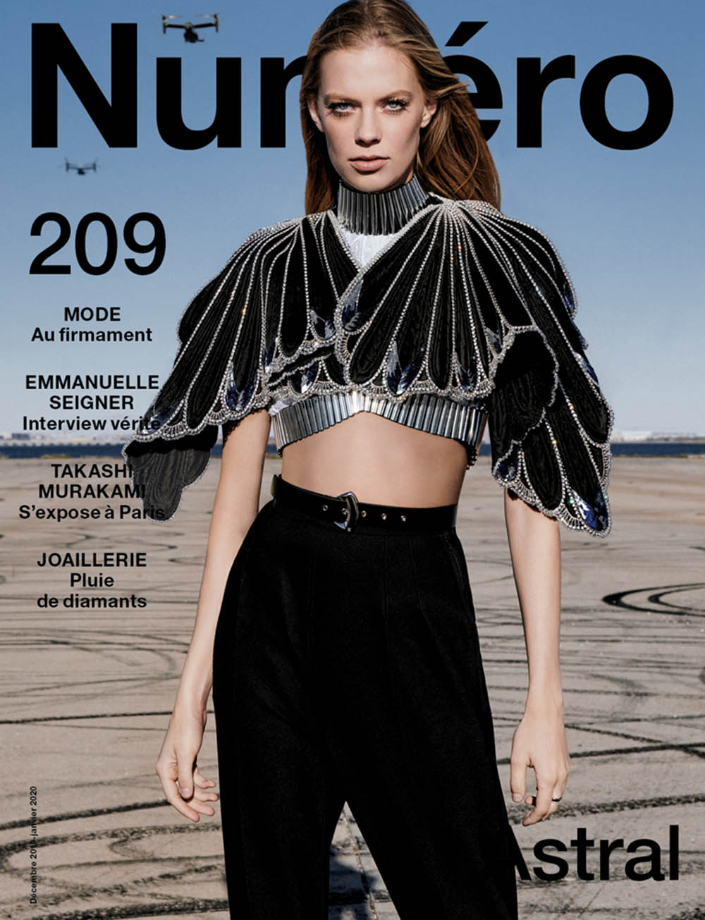 Lexi Boling covers Numéro December 2019 January 2020 by Sebastian Kim