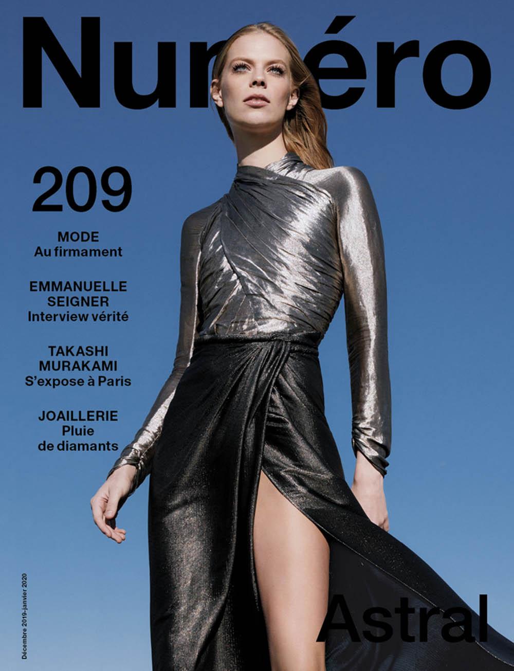 Lexi Boling covers Numéro December 2019 January 2020 by Sebastian Kim