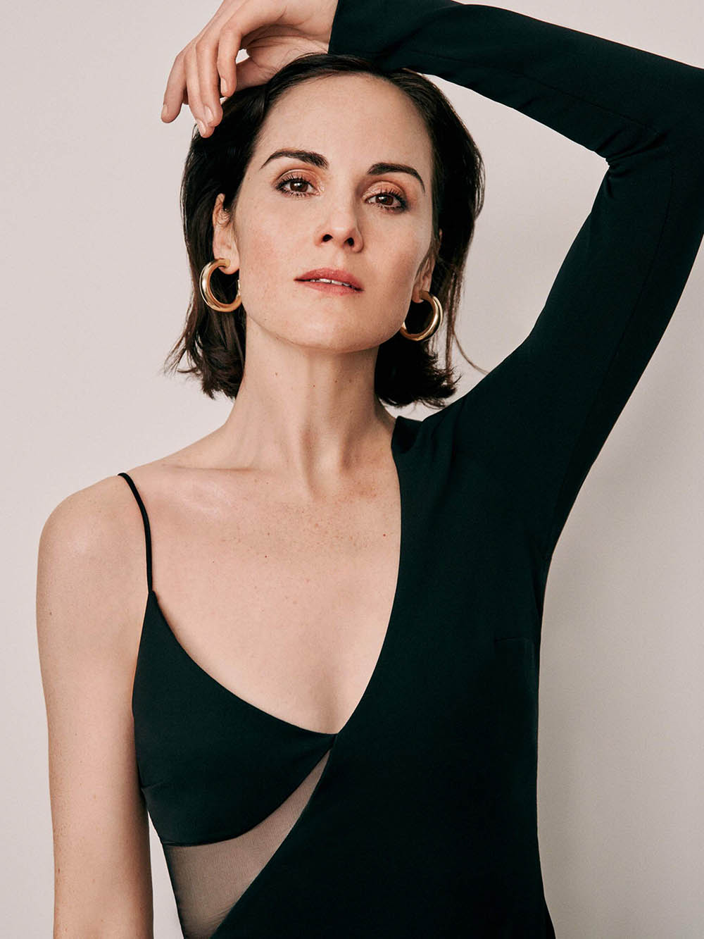 Michelle Dockery covers Porter Magazine December 20th, 2019 by Ward Ivan Rafik