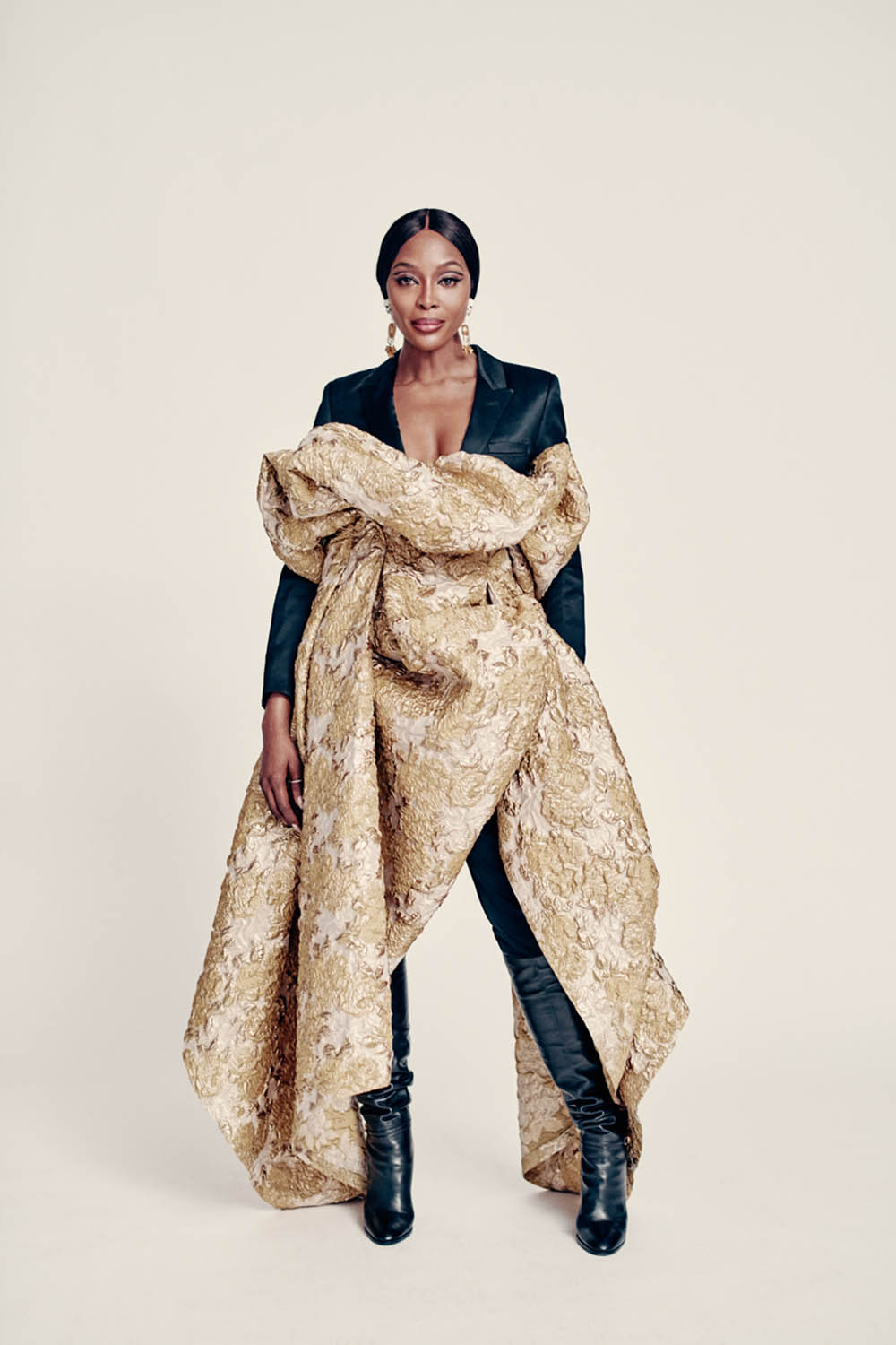 Naomi Campbell covers i-D Magazine Winter 2019 by Paolo Roversi
