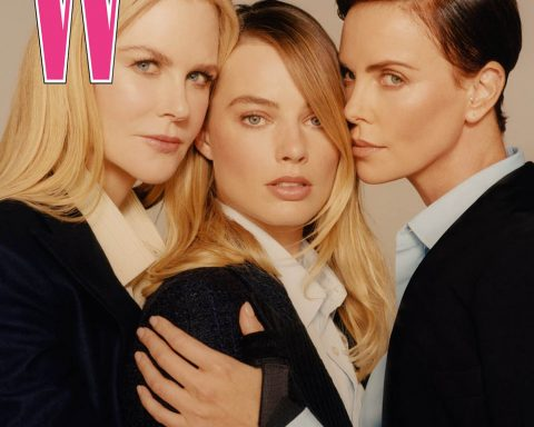 Nicole Kidman, Charlize Theron and Margot Robbie cover W Magazine Volume 8 2019 by Colin Dodgson